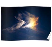 burning cloud Poster