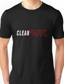 Clean Livin Logo - Black Shirt Unisex T-Shirt