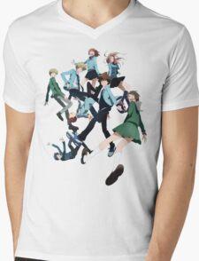 Digimon Adventure 3 Group Mens V-Neck T-Shirt
