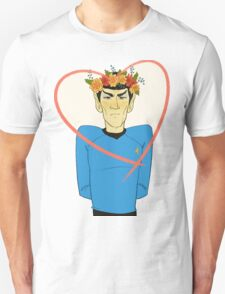First Officer Spock Valentine T-Shirt