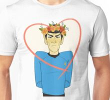 First Officer Spock Valentine Unisex T-Shirt