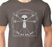 Vitruvian Alien Unisex T-Shirt