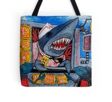 Ice Scream Shark Tote Bag