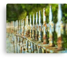 Rusty of time Canvas Print