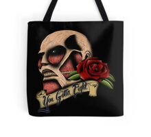 Attack on Titan Tattoo Tote Bag
