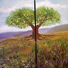 THE TREE (diptyic) by ISABEL ALFARROBINHA