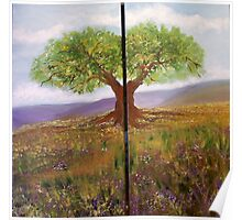THE TREE (diptyic) Poster