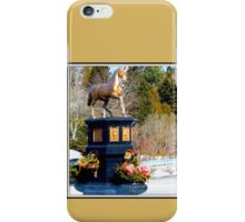 Clara's Golden Horse iPhone Case/Skin