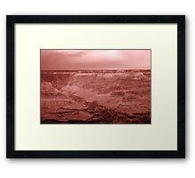 Grand Canyon Landscape Framed Print