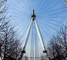London Eye Approach by Roberto Herrett