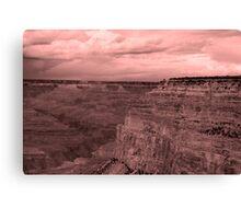 Canyon Rim Canvas Print