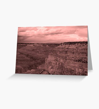 Canyon Rim Greeting Card