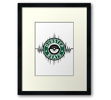 Dubstep - Dirty Beats Framed Print