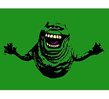 Slimer Photographic Print