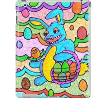 Bee bunny and Ellui egg. iPad Case/Skin