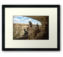 Before the Common View Framed Print