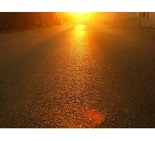 Sun Street Photographic Print