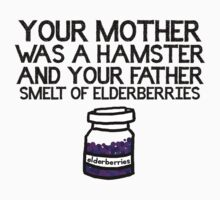 Your Mother Was a Hamster Kids Tee