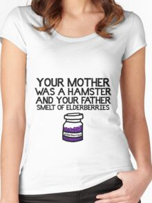 Your Mother Was a Hamster Women's Fitted Scoop T-Shirt