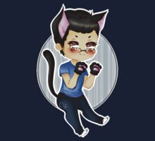 Markiplier - Pretty Little Kitty [T-Shirt, Pillow, etc.] by AjaSama