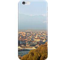 Turin (Torino), panorama at sunset iPhone Case/Skin