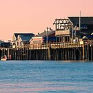 Stearns Wharf, Santa Barbara  by Eyal Nahmias