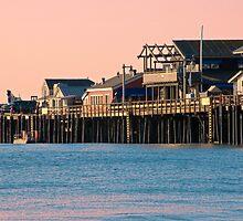 Stearns Wharf, Santa Barbara  by Eyal Nahmias