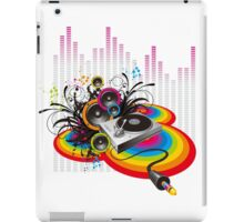 Vinyl Record Music Collage iPad Case/Skin