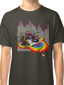 Vinyl Record Music Collage Classic T-Shirt