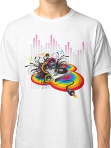 Vinyl Record Music Collage Classic T-Shirt
