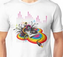 Vinyl Record Music Collage Unisex T-Shirt