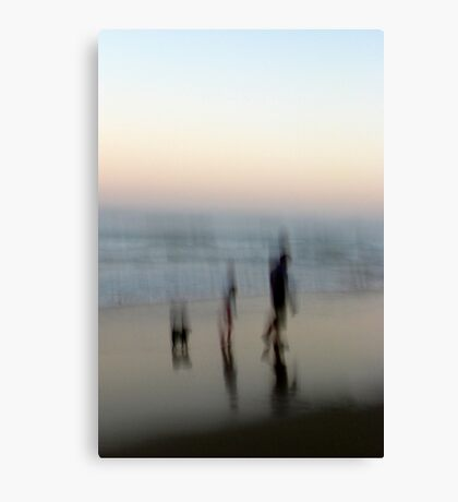 Beach Impressions - Walk This Way Canvas Print