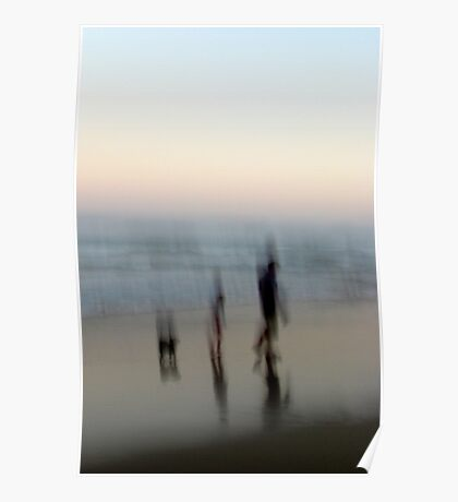 Beach Impressions - Walk This Way Poster