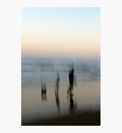 Beach Impressions - Walk This Way Photographic Print