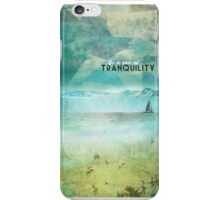 In a sea of tranquility iPhone Case/Skin