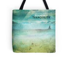 In a sea of tranquility Tote Bag