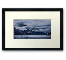 Lake wakatipu Queentown New Zealand 4 Framed Print