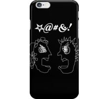 I AM ANGRY!  NO, I AM! iPhone Case/Skin
