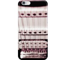 Electric Guitar Pickups iPhone Case/Skin