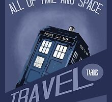 Travel Tardis by iheartgallifrey