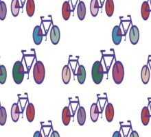 Bicycles T Shirt Sticker