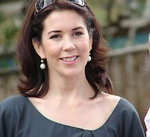 Princess Mary in Tasmania by Mark Ashton
