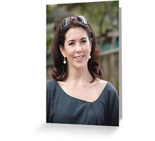 Princess Mary in Tasmania Greeting Card