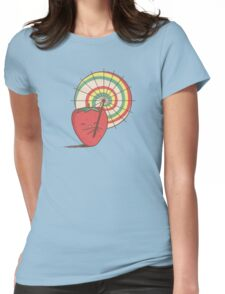 Strawberry Frye Womens Fitted T-Shirt