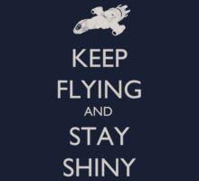 Keep Flying and Stay Shiny Kids Tee