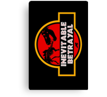 Jurassic Betrayal Canvas Print