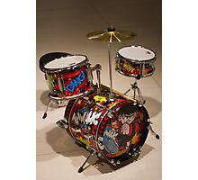 Drums Photographic Print
