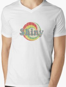 Shiny - Kaylee Style Mens V-Neck T-Shirt