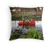 A river to the sea? Throw Pillow
