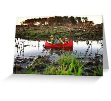 A river to the sea? Greeting Card